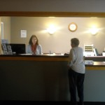 Check in with our friendly staff when you arrive.